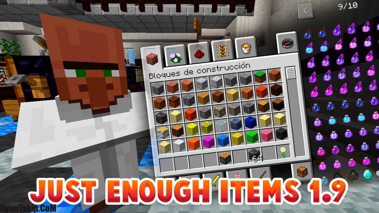 too many items майнкрафт 1.9 #2